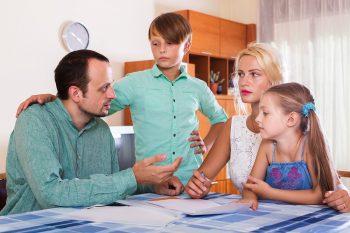 קונפליקטים במשפחה