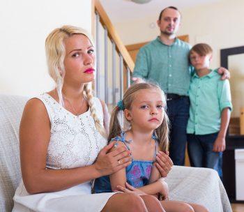 משפחה קונפליקט