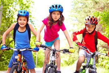 פעילות ילדים אופניים